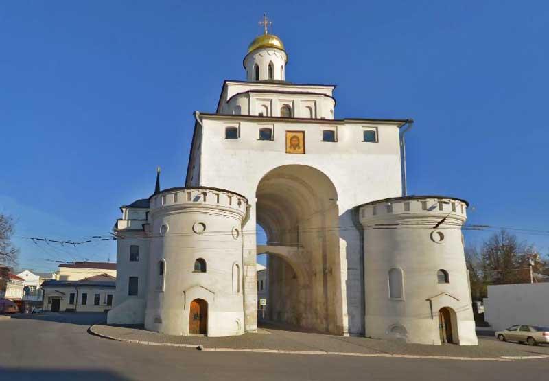 «Золотые ворота» город Владимир