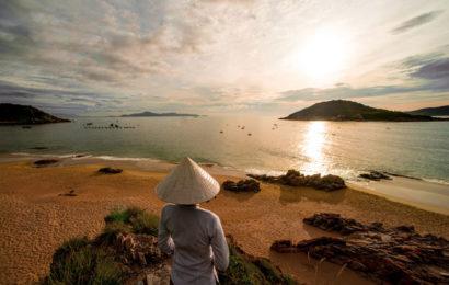 Вьетнам пляж на закате