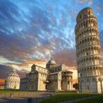 Пизанская башня где находится, страна и город, история
