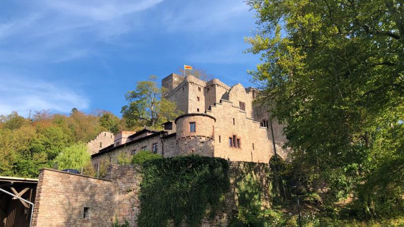 Castle hohenbaden baden-baden