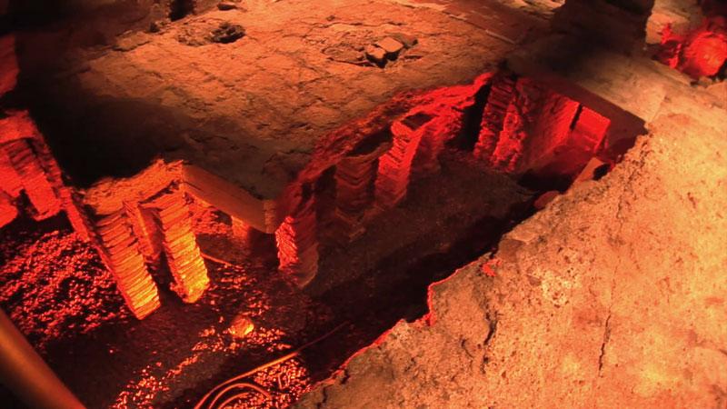 Руины  Римско и императорской термы