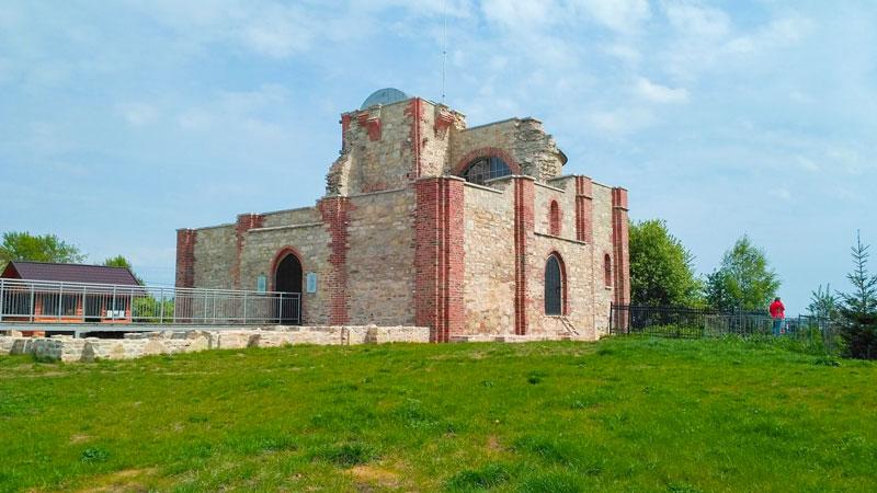 Рюриково Городище после реконструкции