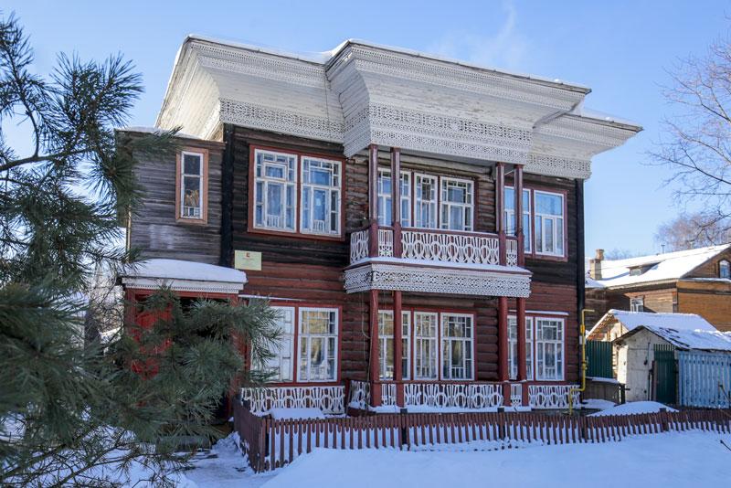 Деревянные дома верхнего посада