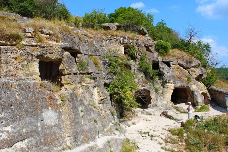 Чуфут Кале пещеры
