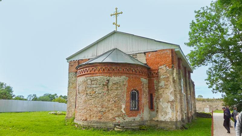 Спасо-Преображенский собор в Копорской крепости