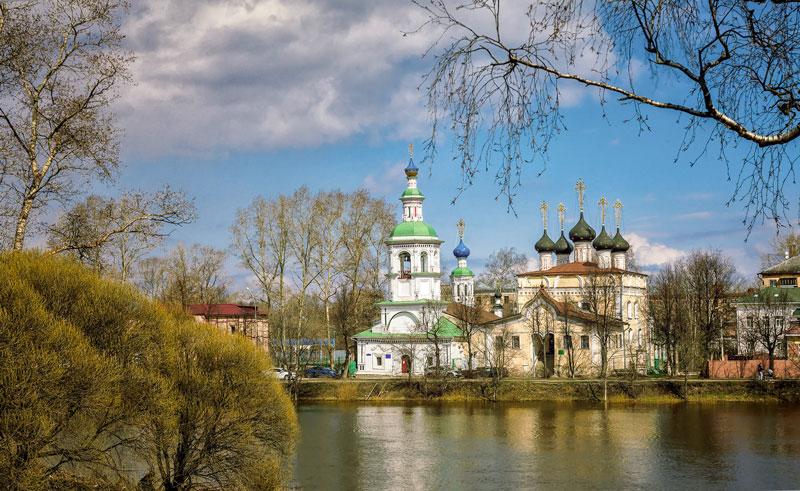 Церковь Успения Пресвятой Богородицы на Наволоке