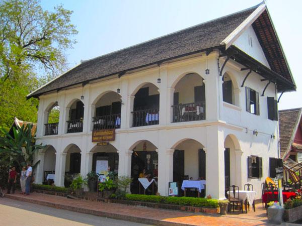 Французские колониальные здания