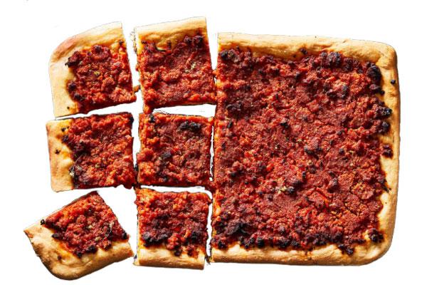 Sfincione - сицилийская пицца